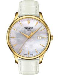 Tissot - Women's T10 Bracelet Watch, 25mm - Lyst