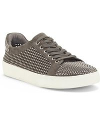 Vince Camuto - Chenta Perforated & Studded Sneaker - Lyst