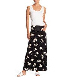 Bobeau - Convertible Knit Maxi Skirt - Lyst