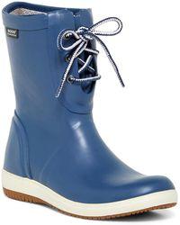 Bogs - Quinn Lace-up Waterproof Rain Boot - Lyst