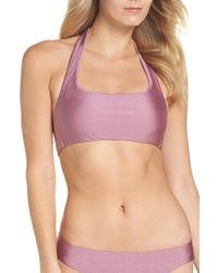 Becca - Ballerina Halter Bikini Top - Lyst