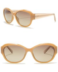 Fossil - Oversized 55mm Sunglasses - Lyst
