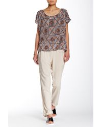 The Odells - Cuffed Woven Pant - Lyst
