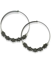 ALEX AND ANI - Nile Small Endless Hoop Earrings - Lyst