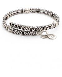 ALEX AND ANI - Twist Wrap Bracelet - Lyst