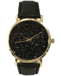 Olivia Pratt - Women's Constellations Dial Leather Watch - Lyst