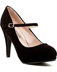 Elegant Footwear - Adamaris Mary Jane Pump - Lyst