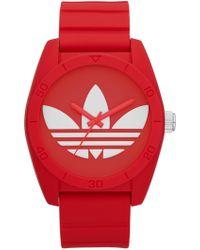 adidas Originals - Men's Santiago Silicone Watch - Lyst