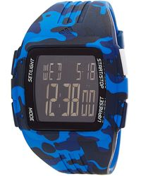 adidas Originals - Men's Duramo Blue Camo Watch - Lyst