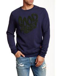 Altru - Crew Neck Applique Sweater - Lyst
