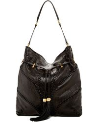 B Brian Atwood - Lucas Leather Hobo Bag - Lyst