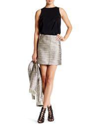 Amanda Uprichard - Aurora Mini Skirt - Lyst