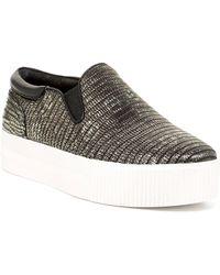 Ash Karma Slip-on Platform Sneaker - Black
