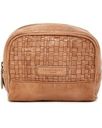 Liebeskind Berlin - Ava Leather Woven Cosmetic Bag - Lyst