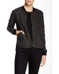 Shades of Grey by Micah Cohen - Knit Bomber - Lyst