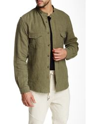 Shades of Grey by Micah Cohen - Military Overshirt - Lyst