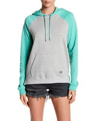 Volcom - Lived In Colorblock Hoodie - Lyst