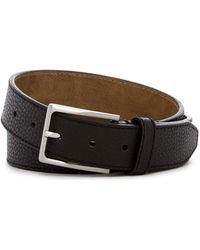 Steve Madden - Pebble Stitched Leather Belt - Lyst