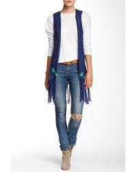 Blu Pepper - Knit Vest - Lyst