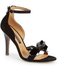 Kay Unger - 'baroque' Ankle Strap Sandal (women) - Lyst