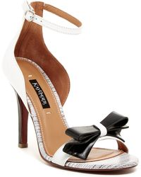 Kay Unger - Baroque Ankle Strap Leather Sandal - Lyst