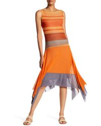 Petit Pois - Printed Flow Dress - Lyst