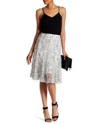 Insight - Printed Lace Skirt - Lyst