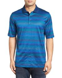 Bugatchi - Jacquard Mercerized Cotton Polo - Lyst