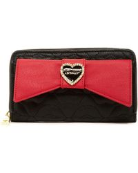 Betsey Johnson - Large Bow Wallet - Lyst
