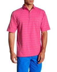 Bobby Jones - Short Sleeve Stripe Shirt - Lyst