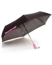 Betsey Johnson - Auto Folding Print Umbrella - Lyst
