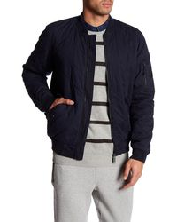 Bench - Trail Quilted Baseball Jacket - Lyst