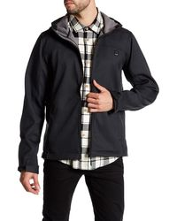 Bench - Soft Shell Hooded Zip Jacket - Lyst