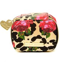 Betsey Johnson - Faux Leather Pill Case - Lyst