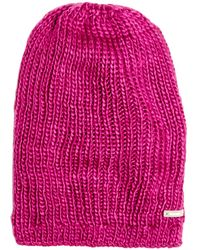 Bench - Purple Wine Knit Stocking Hat - Lyst