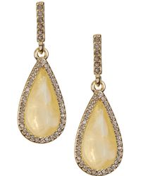 Karen Kane - Crystal Coronado Earrings - Lyst