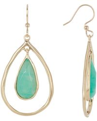 Karen Kane - Sky & Sea Nesting Teardrop Dangle Earrings - Lyst