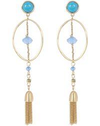 Karen Kane - Casablanca Tassel Drop Earrings - Lyst
