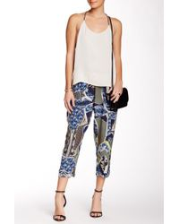 The Odells - Printed Silk Pant - Lyst