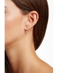 Vince Camuto | Front & Back Pyramid Stud Earrings | Lyst