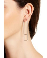 Vince Camuto | Front Back Window Earrings | Lyst