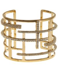 Vince Camuto - Grid Cuff Bracelet - Lyst