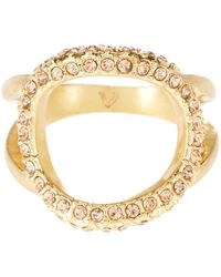 Vince Camuto - Dainty Open Pave Ring - Size 7 - Lyst