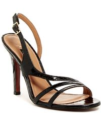 Kay Unger - Cancun Leather Slingback Sandal - Lyst