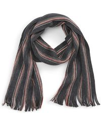 Calibrate - Raschel Stripe Wool Scarf - Lyst
