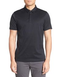 Calibrate - Mercerized Cotton Jersey Polo - Lyst