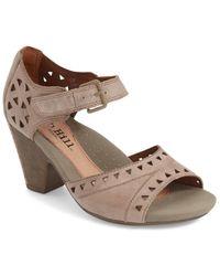 Cobb Hill - 'trista' Peep Toe Sandal (women) - Multiple Widths Available - Lyst