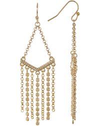 Cole Haan - Multi-chain Chandelier Earrings - Lyst