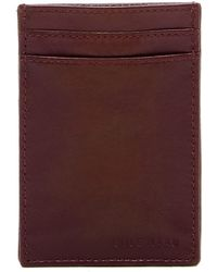 Cole Haan - Leather Card Case - Lyst