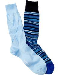 Bugatchi - Dress Socks - Pack Of 2 - Lyst